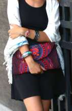 Arianna Clutch Bag - Red Hmong