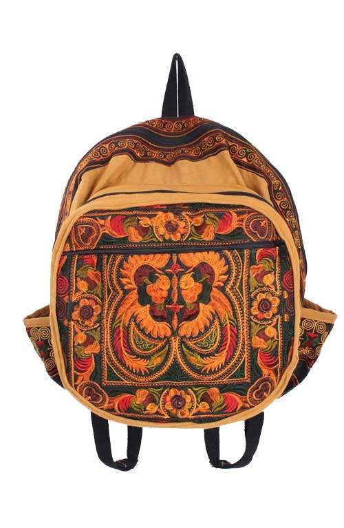 Backpack - Orange Bird