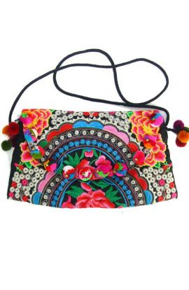 Cross Body Bag - Hmong Rose