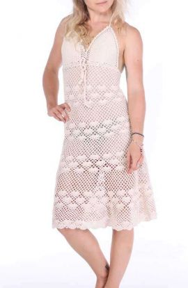 Liliana Crochet Dress