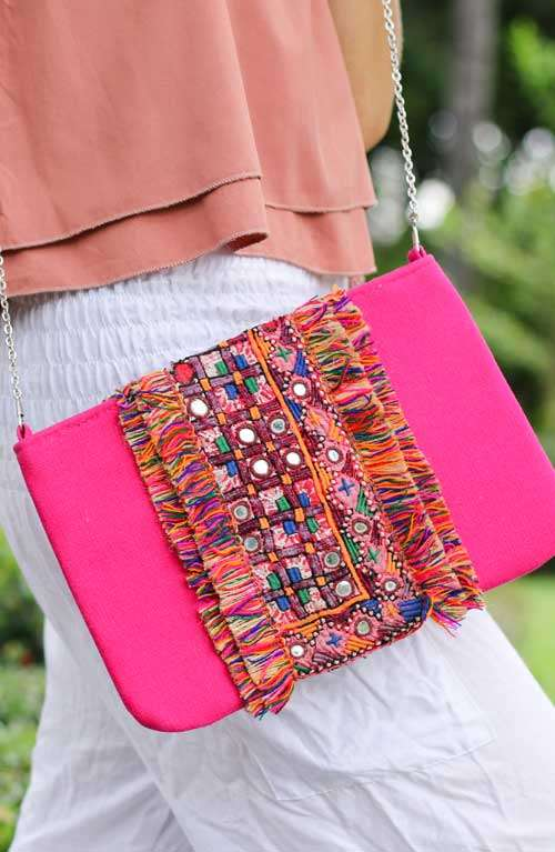 Stunning Leather Clutch