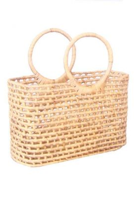 Large Basket Straw Bag