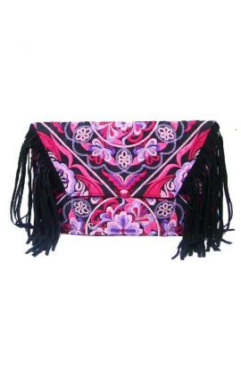 White and Pink CB Bag