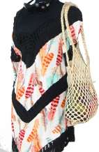 Crochet Netted Bag