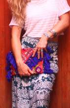 Offbeat Clutch - Tassel Love