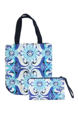 Blue Bohemian Bag Set