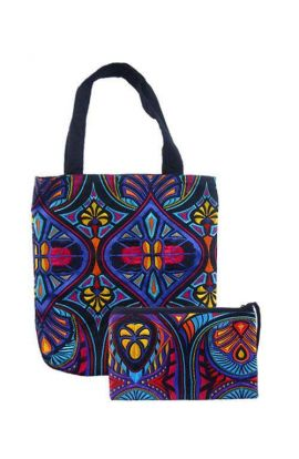 Bohemian Bag and Clutch Set - Tahj