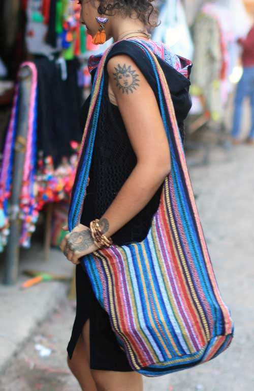 Brown Bohemian Bag