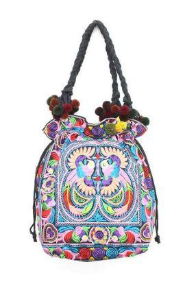 Multi Bird Shoulder Bag