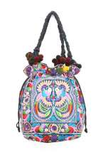 Multi Bird Shoulder Bag