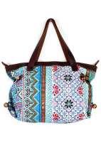 Bohemian Vintage Blue Handbag