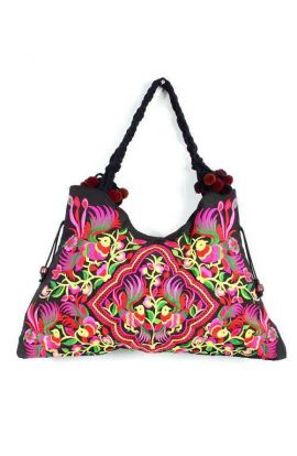 Triangle Shoulder Bag - Humming Bird