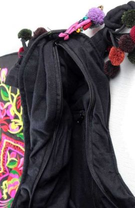 Triangle Shoulder Bag - Humming Bird