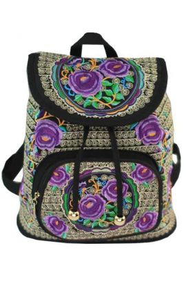Festival Backpack - Violet Hmong