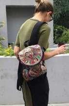 Festival Backpack - Violet Hmong