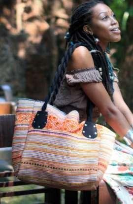 Oversized Hmong Shoulder Bag