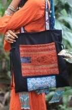 Vintage Blue Shoulder Bag