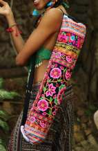 Yoga Mat Carrier - Flower Garden