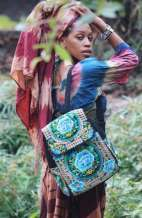 Festival Backpack - Hill Tribe Rose