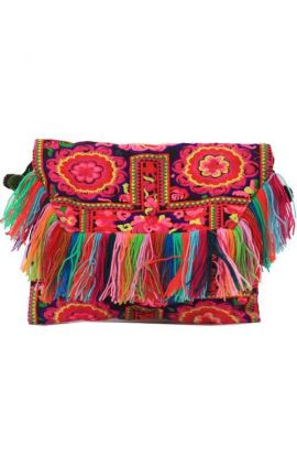 Cross Body Bag - Multi Tassel Mania