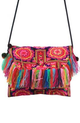 Cross Body Bag - Tassel Mania