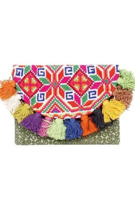 Cross Stitch Clutch