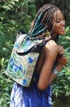 Festival Backpack - Hill Tribe Rose