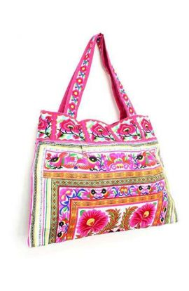 Sandy Beach Bag - Thai Flower
