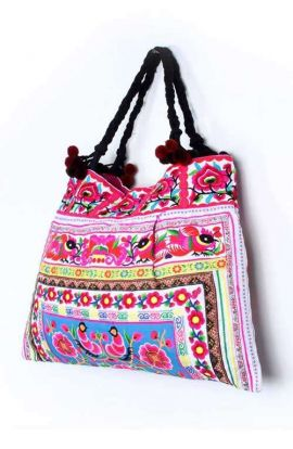 Shoulder Beach Bag - Garden