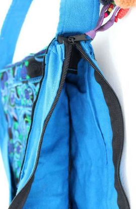 Cross Body Bag - Blue Bird