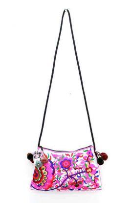 Cross Body Bag - Flower Vine