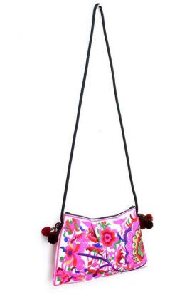 Cross Body Bag - Flower Vine