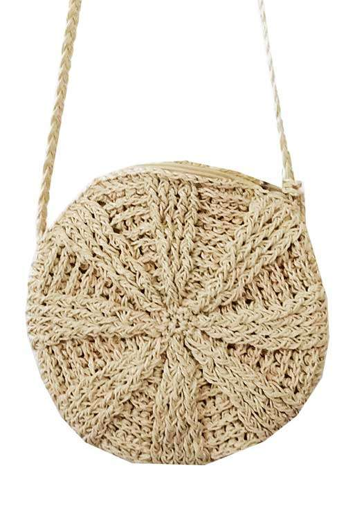 Cross Body Bag - Crochet Netted