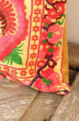 Cushion Cover - Multi Bird