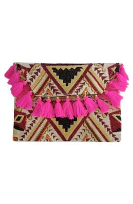 Large Clutch - Wild Pink