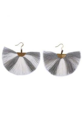 Fanned Tassel Earrings