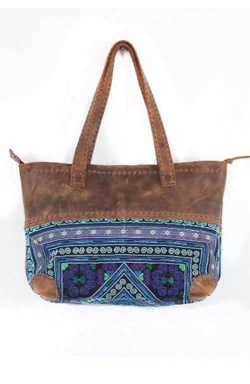 Leather Shoulder Bag - Thai