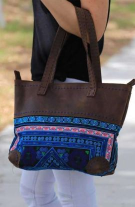 Shoulder Tote Bag - Vintage