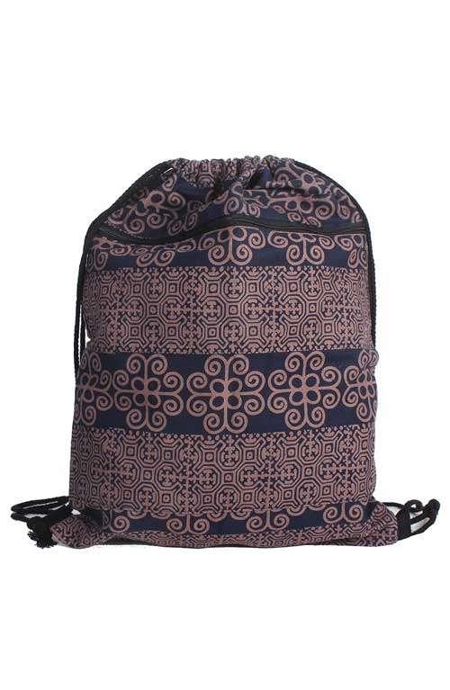 Backpack Sling Bag - Batik