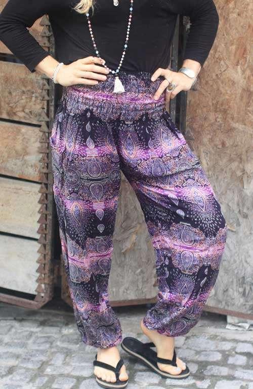 Harem Pants - Purple