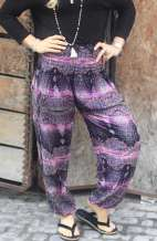 Harem Pants - Purple