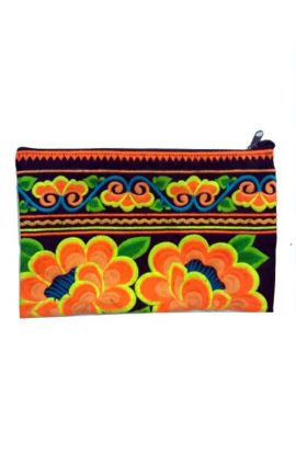 Women's Boho Purse - Sunrise Floral