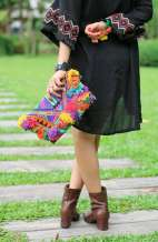 Bohemian Tribal Tassel Purse