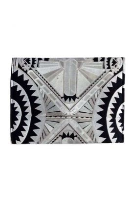 Oversized Clutch - Deco