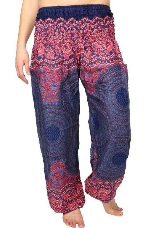 Trendy hill tribe yoga pants