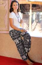 Elephant Harem Pants - Black
