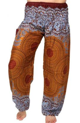 Harem Pants - Honey Hive Pumpkin Spice
