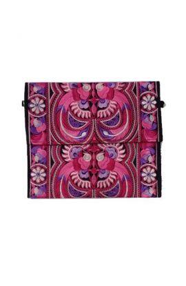 Pink Garden Cross Body Bag