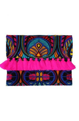 Lioness Oversized Clutch - Multi Tahj