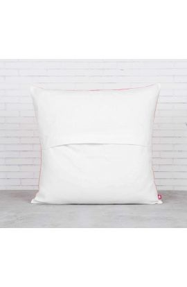 Taffeta Chevron Pink Cushion Cover